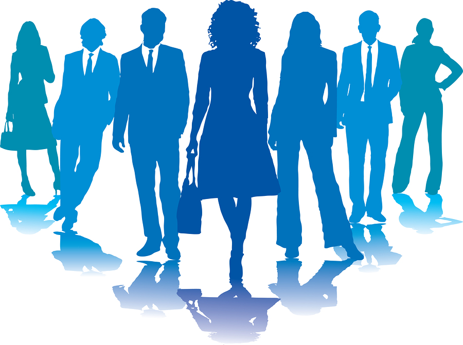 bigstock Business People Blue 1254320